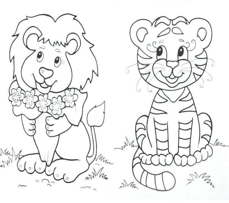 Иллюстрация 1 из 9 для Раскраска: В мире животных | Лабиринт - книги. Источник: Лабиринт
