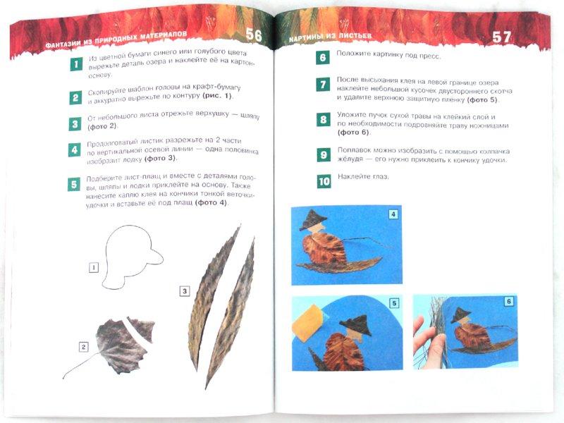 Иллюстрация 1 из 15 для Фантазии из природных материалов - Екатерина Немешаева | Лабиринт - книги. Источник: Лабиринт