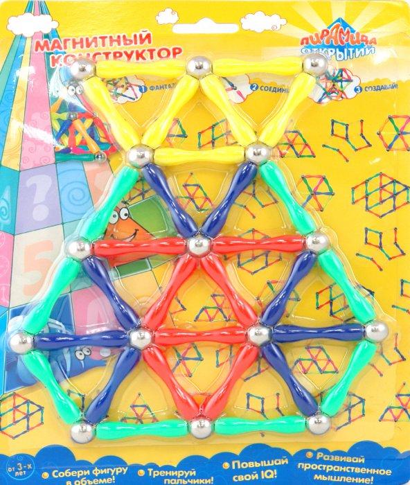 Иллюстрация 1 из 2 для Конструктор магнитный (9739) | Лабиринт - игрушки. Источник: Лабиринт