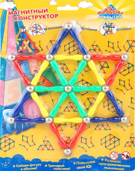 Иллюстрация 1 из 5 для Конструктор магнитный (12861) | Лабиринт - игрушки. Источник: Лабиринт