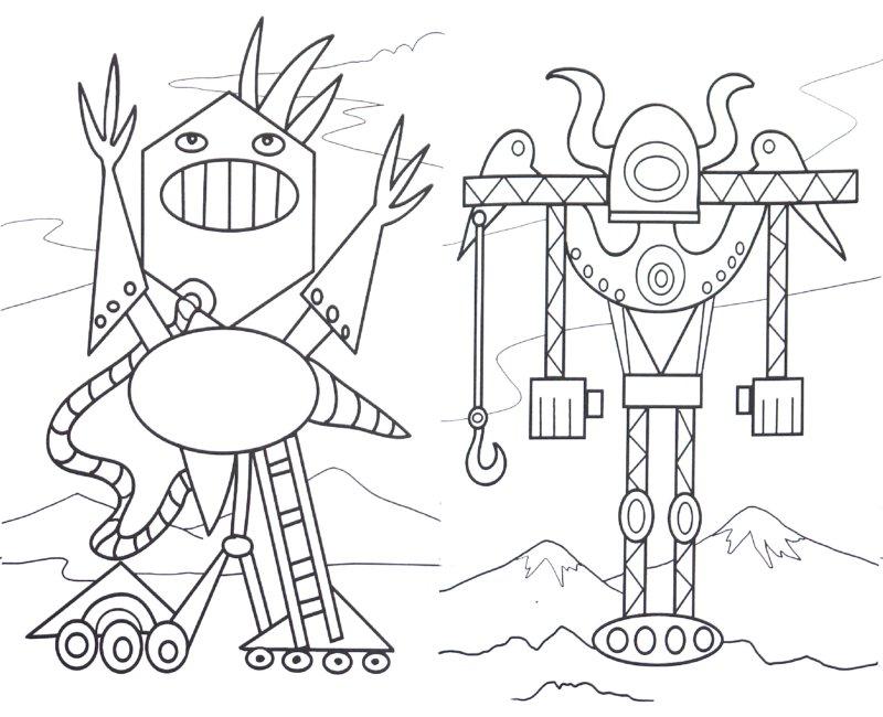 Иллюстрация 1 из 5 для Раскраска: Космические монстры | Лабиринт - книги. Источник: Лабиринт