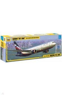 Купить Пассажирский авиалайнер Боинг 767-300 (7005), Звезда, Пластиковые модели: Авиатехника (1:144)