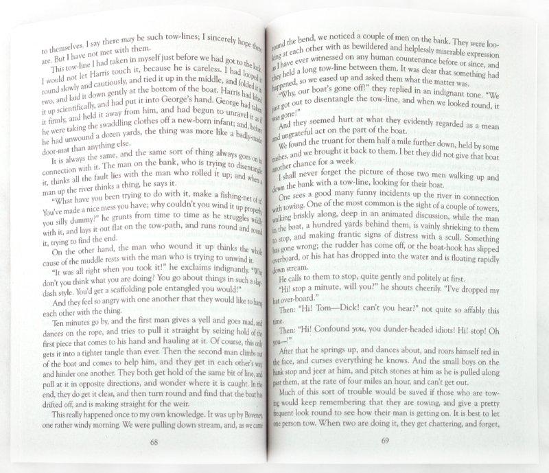 Иллюстрация 1 из 6 для Three men in a boat (o Say Nothing of the Dog) - K. Jerome   Лабиринт - книги. Источник: Лабиринт