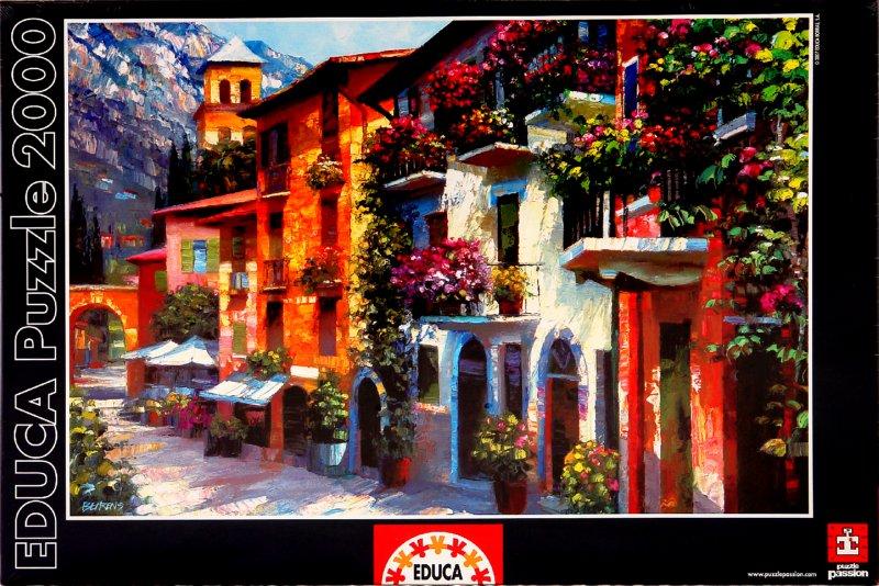 """Иллюстрация 1 из 3 для Пазл-2000 """"Уединенный городок"""" (13424)   Лабиринт - игрушки. Источник: Лабиринт"""