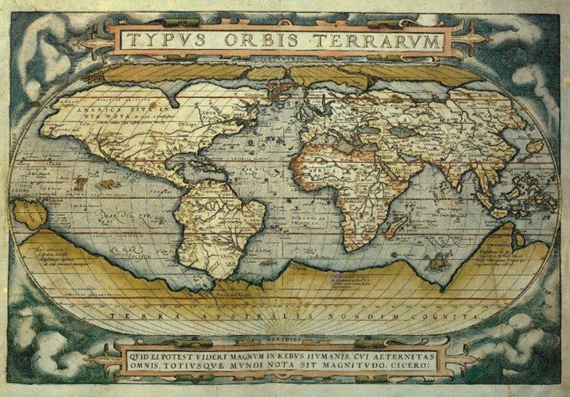 Иллюстрация 1 из 4 для Пазл-3000 Средневековая карта мира (7484) | Лабиринт - игрушки. Источник: Лабиринт