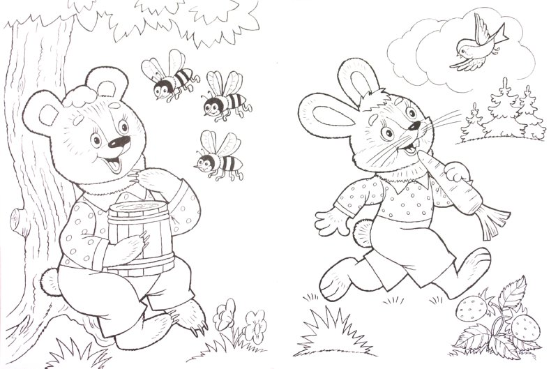 Иллюстрация 1 из 7 для Раскраска: Кто живет в лесу - Т. Коваль | Лабиринт - книги. Источник: Лабиринт