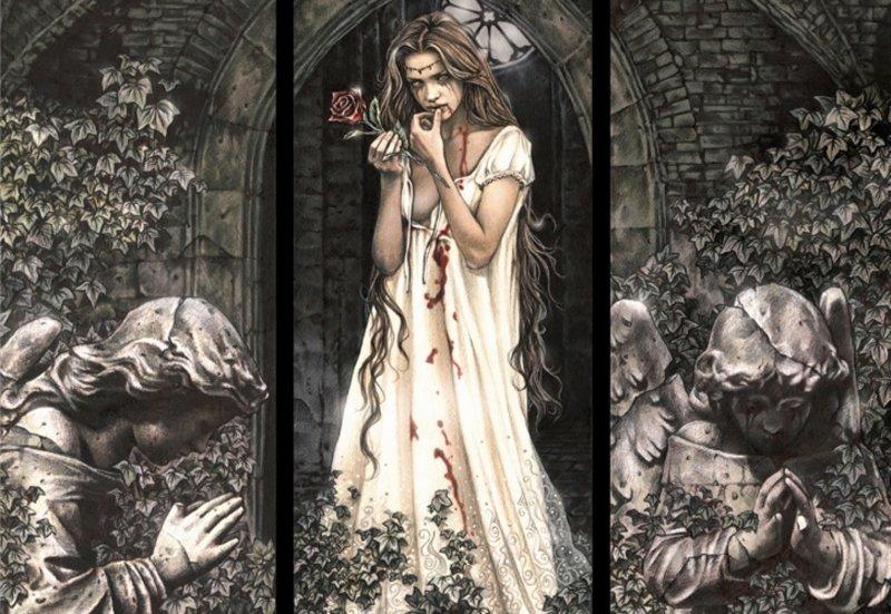 Иллюстрация 1 из 3 для Пазл-1500  Готика, Ангел-хранитель (13455) | Лабиринт - игрушки. Источник: Лабиринт