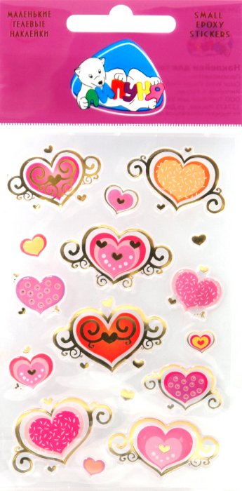 Иллюстрация 1 из 4 для Сердца (sES002) | Лабиринт - игрушки. Источник: Лабиринт
