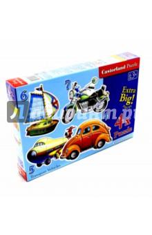 Puzzle-4х5х6х7 Транспорт (В-04119) puzzle 8х12х15х20 транспорт в 043057