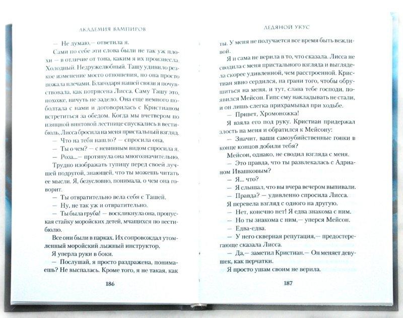 Иллюстрация 1 из 19 для Академия вампиров. Книга 2. Ледяной укус - Райчел Мид | Лабиринт - книги. Источник: Лабиринт