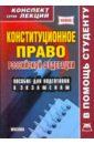 Конституционное право Российской Федерации. Конспект лекций., Якушев А. В.