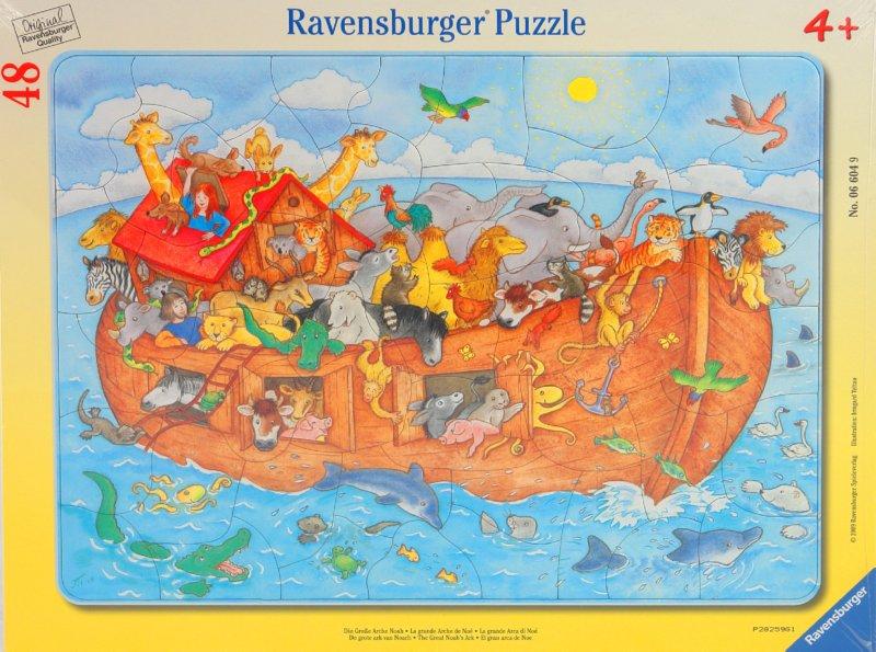 """Иллюстрация 1 из 3 для Пазл-48 """"Ноев ковчег"""" (066049)   Лабиринт - игрушки. Источник: Лабиринт"""