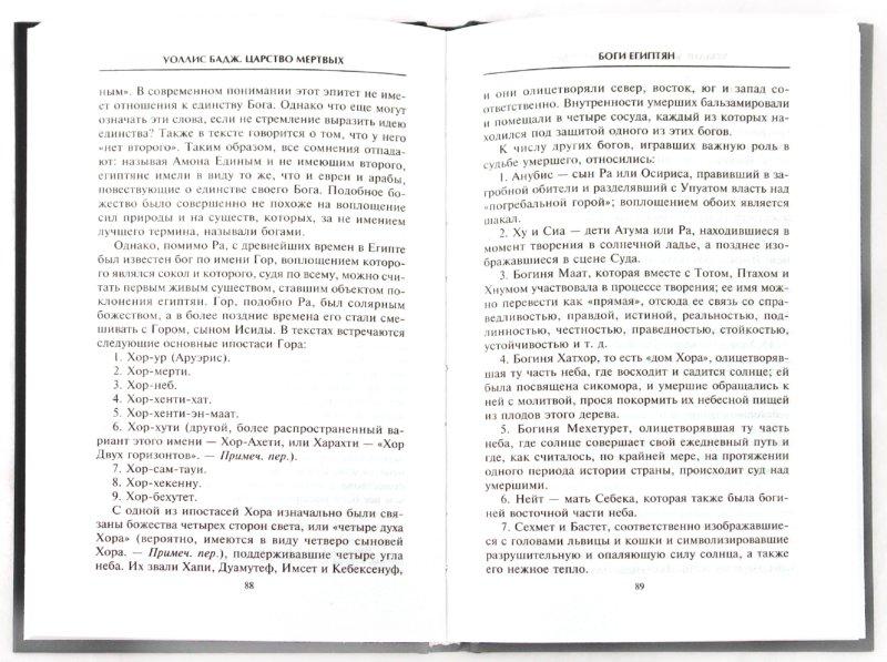 Иллюстрация 1 из 24 для Царство мертвых: обряды и культы древних египтян - Уоллис Бадж | Лабиринт - книги. Источник: Лабиринт