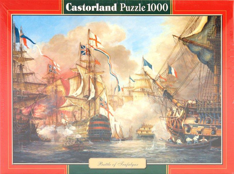 Иллюстрация 1 из 5 для Puzzle-1000. Трафальгарское сражение (С-101894) | Лабиринт - игрушки. Источник: Лабиринт