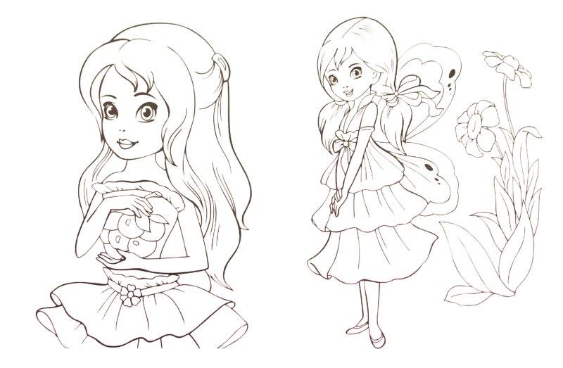 Иллюстрация 1 из 17 для Раскраска для девочек. Выпуск 4 | Лабиринт - книги. Источник: Лабиринт