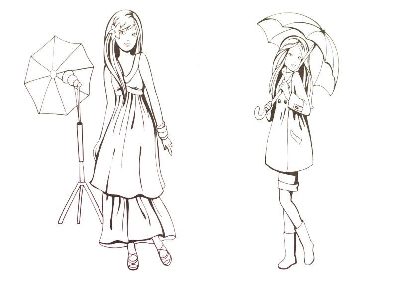 Иллюстрация 1 из 8 для Раскраска для девочек. Выпуск 6 | Лабиринт - книги. Источник: Лабиринт
