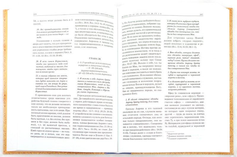 Иллюстрация 1 из 19 для Толковая Библия, или Комментарии на все книги Св.Писания Ветхого и Нового Завета. В 7 томах. Том 1 | Лабиринт - книги. Источник: Лабиринт