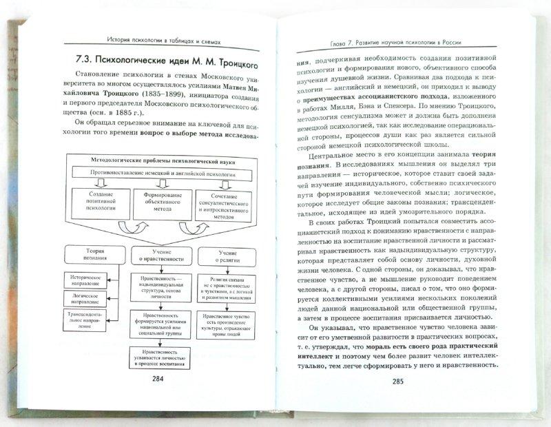 Иллюстрация 1 из 14 для История психологии в таблицах и схемах - Сарычев, Логвинов | Лабиринт - книги. Источник: Лабиринт