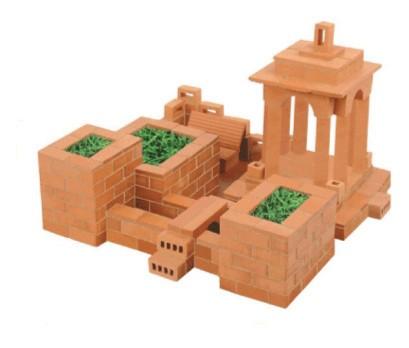 Иллюстрация 1 из 20 для Строительный набор: Садик (102) | Лабиринт - игрушки. Источник: Лабиринт