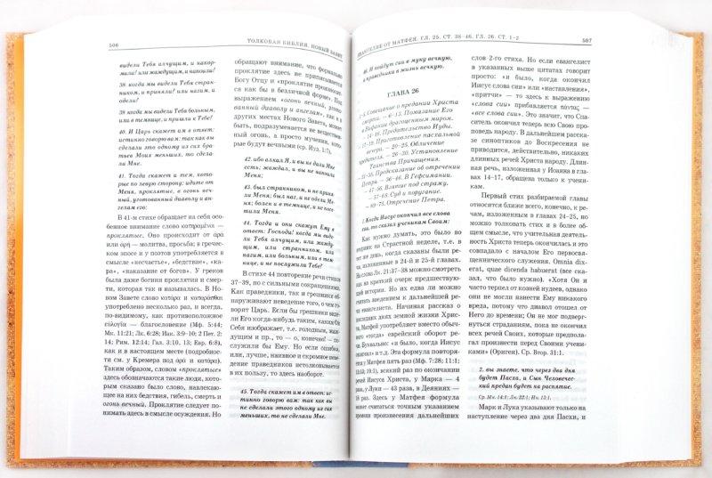 Иллюстрация 1 из 35 для Толковая Библия, или Комментарии на все книги Св.Писания Ветхого и Нового Завета. В 7 томах. Том 6 | Лабиринт - книги. Источник: Лабиринт