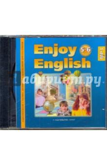 Enjoy English. Учебник. 5-6 класс (CDmp3) enjoy english 8 класс cdmp3