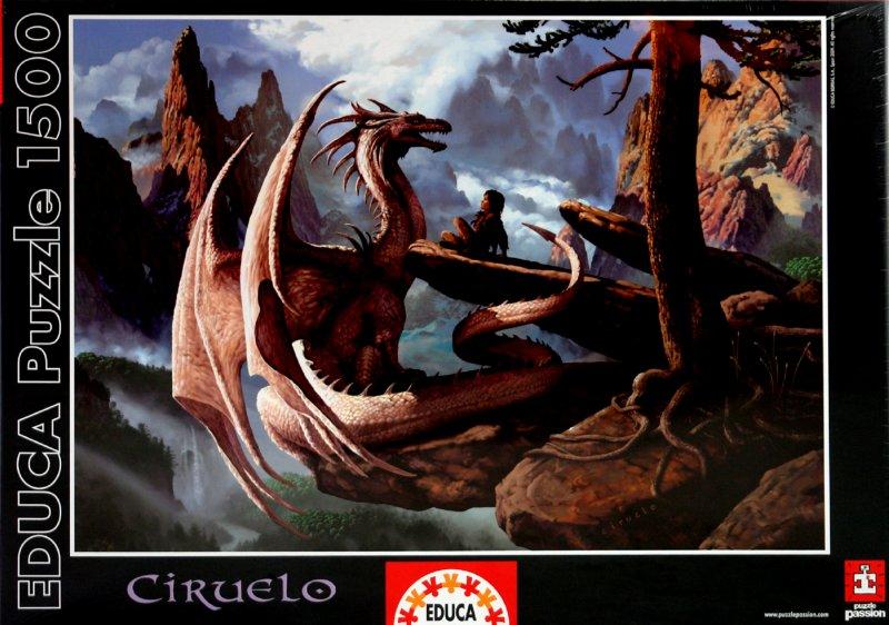 Иллюстрация 1 из 2 для Пазл-1500 Дракон и мальчик (14152) | Лабиринт - игрушки. Источник: Лабиринт