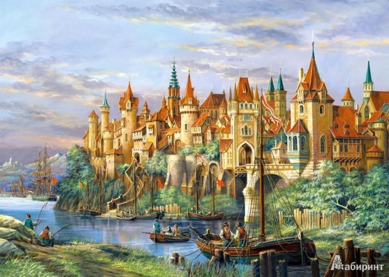 Иллюстрация 1 из 28 для Puzzle-3000. Город (C-300174) | Лабиринт - игрушки. Источник: Лабиринт
