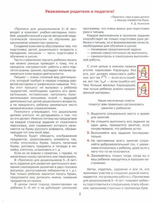 Иллюстрация 1 из 12 для Прописи для дошкольников 5-6 лет. ФГОС ДО - Елена Колесникова | Лабиринт - книги. Источник: Лабиринт