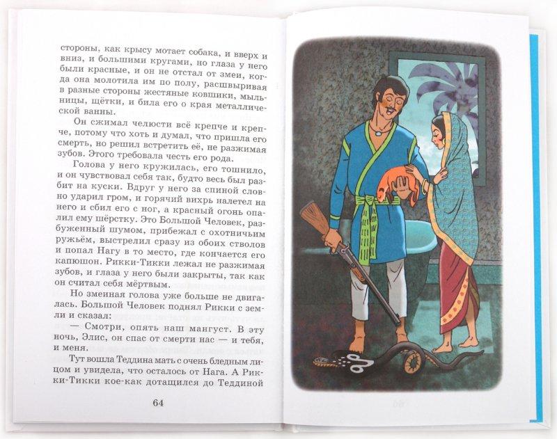 "Иллюстрация 1 из 14 для ""Рикки-Тикки-Тави"" и другие сказки - Редьярд Киплинг | Лабиринт - книги. Источник: Лабиринт"