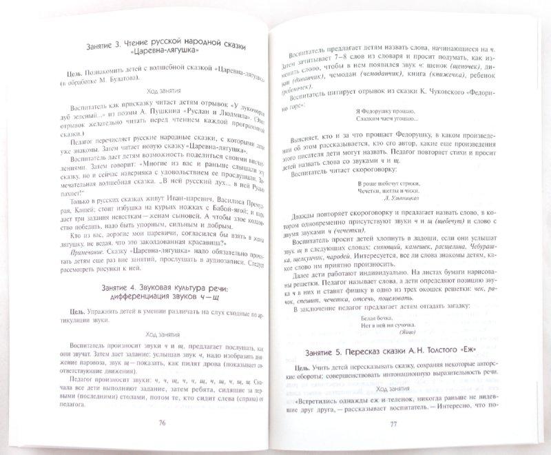 Иллюстрация 1 из 7 для Занятия по развитию речи. Старшая группа - Гербова, Гербова   Лабиринт - книги. Источник: Лабиринт