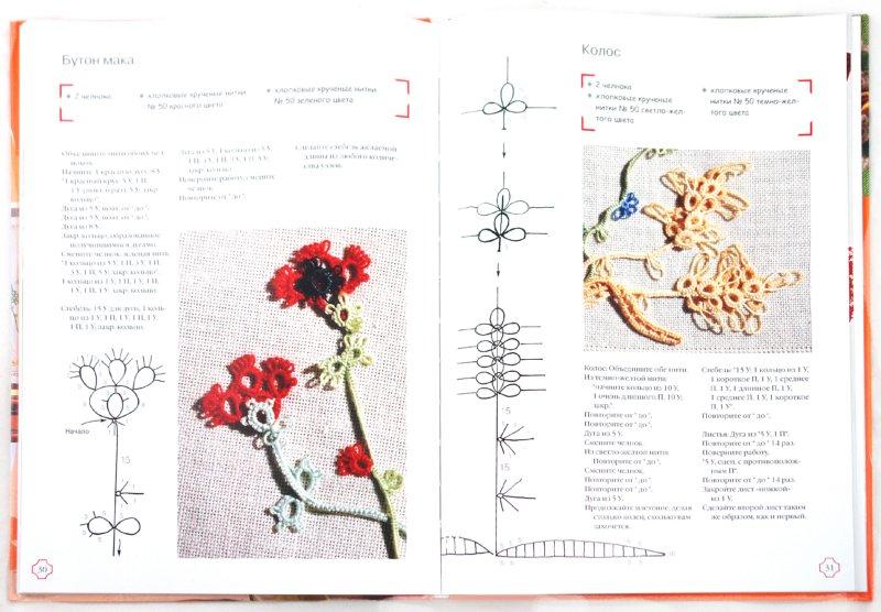 Иллюстрация 1 из 52 для Кружево фриволите - Марилиза Эдони | Лабиринт - книги. Источник: Лабиринт