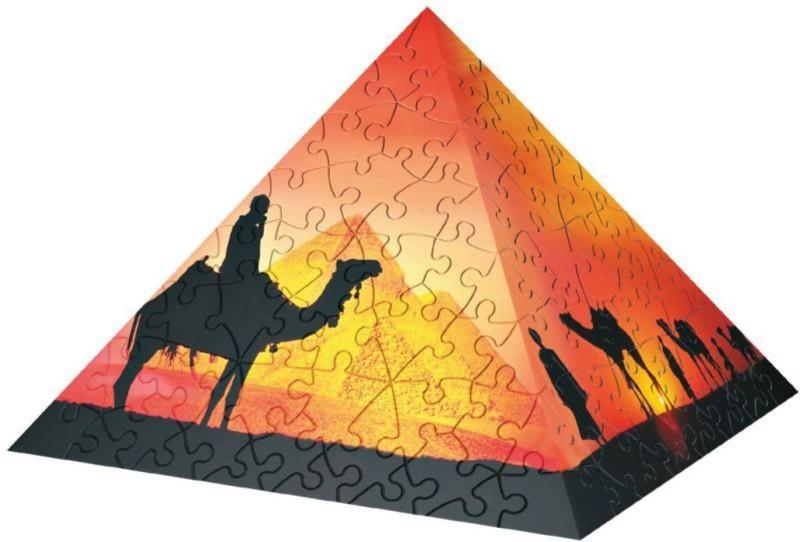 Иллюстрация 1 из 2 для Пазл-пирамида-240. Закат в пустыне (114603)   Лабиринт - игрушки. Источник: Лабиринт