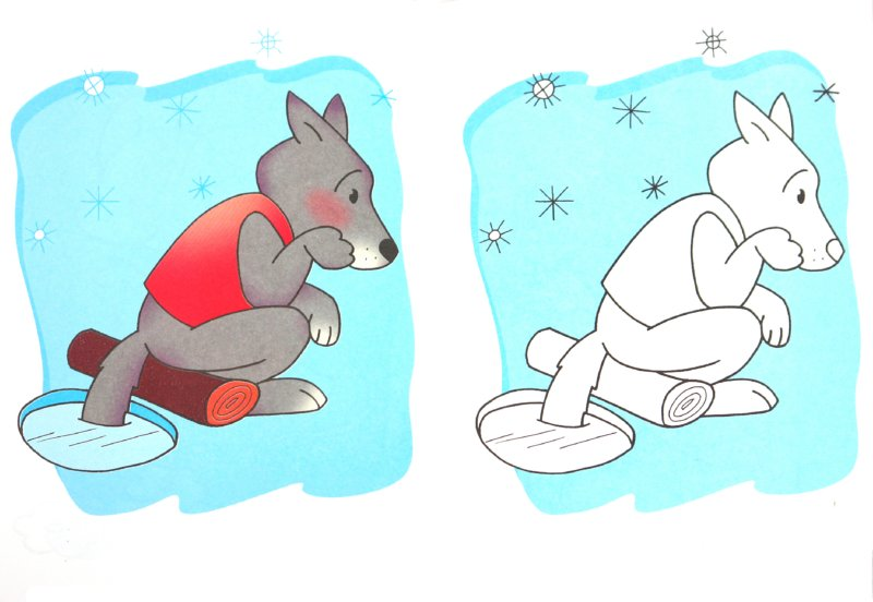 Иллюстрация 1 из 23 для Посмотри и раскрась. Герои сказок | Лабиринт - книги. Источник: Лабиринт