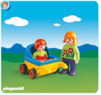 Иллюстрация 1 из 10 для Мама и малыш в коляске (6749) | Лабиринт - игрушки. Источник: Лабиринт
