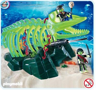 Иллюстрация 1 из 7 для Призрак скелета кита с пиратским орудием (4803) | Лабиринт - игрушки. Источник: Лабиринт