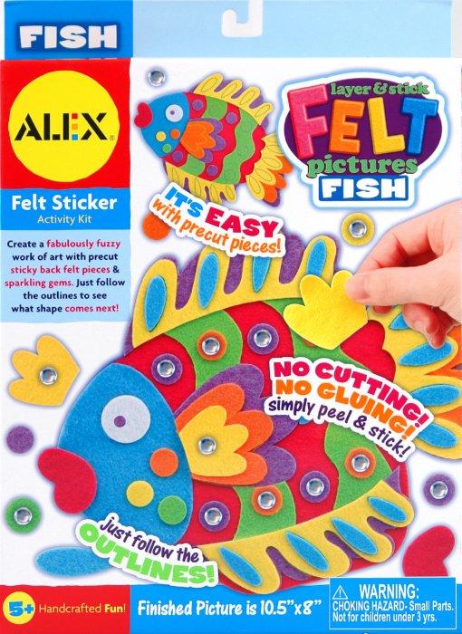 Иллюстрация 1 из 12 для Аппликация Рыбка из флиса с блестками (398F) | Лабиринт - игрушки. Источник: Лабиринт