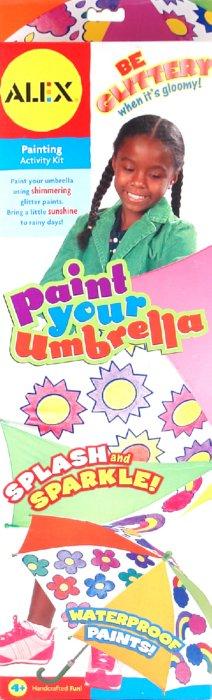Иллюстрация 1 из 8 для Набор для раскраски зонта (177) | Лабиринт - игрушки. Источник: Лабиринт