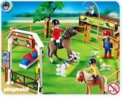 Иллюстрация 1 из 3 для Площадка для конного спорта (4185) | Лабиринт - игрушки. Источник: Лабиринт