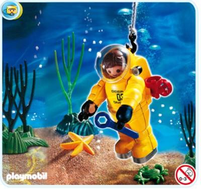 Иллюстрация 1 из 3 для Водолаз (4479) | Лабиринт - игрушки. Источник: Лабиринт