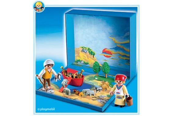 Иллюстрация 1 из 9 для Ноев ковчег (микро) (4332) | Лабиринт - игрушки. Источник: Лабиринт