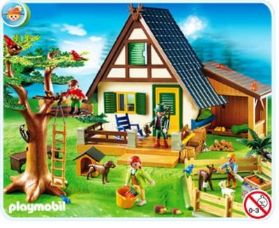 Иллюстрация 1 из 28 для Лесной дом с кормушкой для молодняка (4207)   Лабиринт - игрушки. Источник: Лабиринт