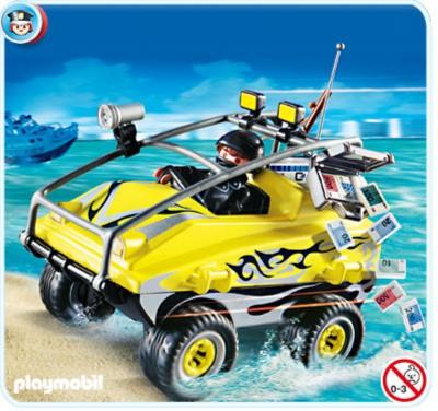 Иллюстрация 1 из 16 для Автомобиль-амфибия грабителей (4449) | Лабиринт - игрушки. Источник: Лабиринт