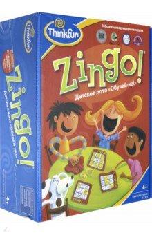 Детское лото Обучай-ка Zingo! (7700) thinkfun детское лото обучай ка thinkfun