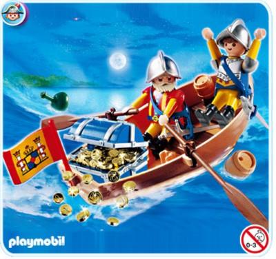 Иллюстрация 1 из 9 для Лодка с сокровищами (4295) | Лабиринт - игрушки. Источник: Лабиринт