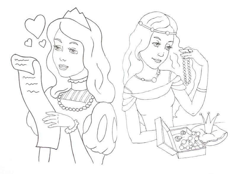 Иллюстрация 1 из 5 для Принцессы-красавицы (зеленая)   Лабиринт - книги. Источник: Лабиринт