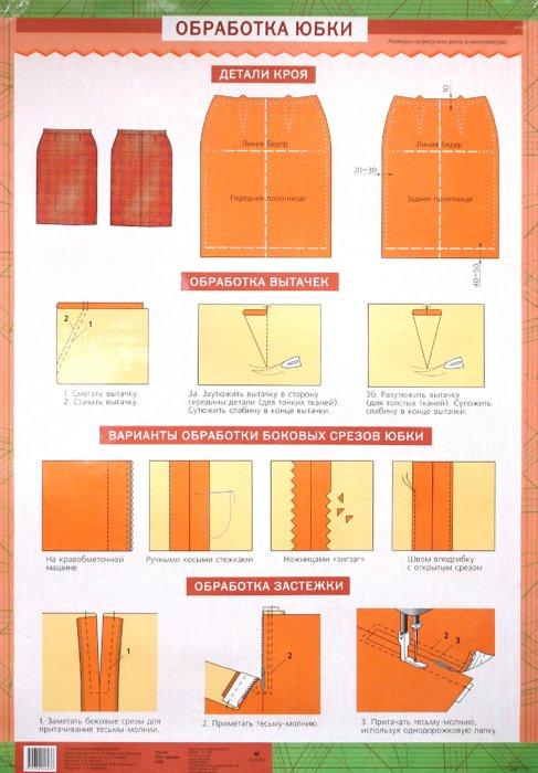 Иллюстрация 1 из 2 для Обработка юбки / Обработка воротников - Кожина, Шишкова | Лабиринт - книги. Источник: Лабиринт