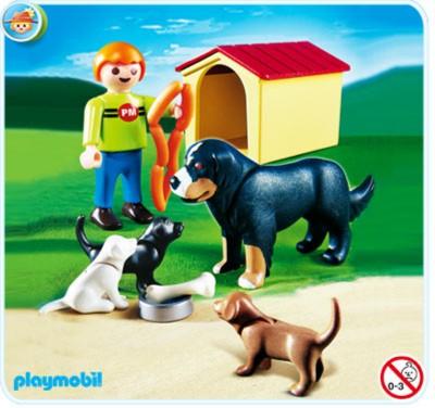 Иллюстрация 1 из 6 для Собачка со щенками у будки (4498) | Лабиринт - игрушки. Источник: Лабиринт