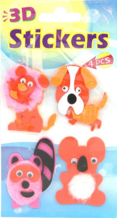 Иллюстрация 1 из 3 для Наклейки детские. FS-Sticker | Лабиринт - игрушки. Источник: Лабиринт