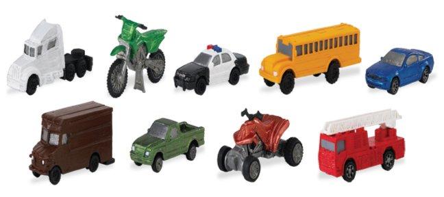 Иллюстрация 1 из 15 для Автотранспорт, 9 фигурок (684904) | Лабиринт - игрушки. Источник: Лабиринт