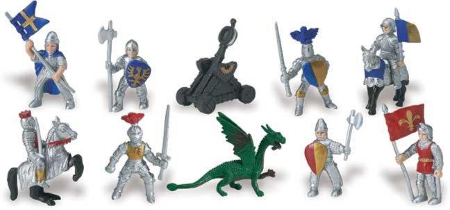Иллюстрация 1 из 10 для Рыцари и дракон (699904) | Лабиринт - игрушки. Источник: Лабиринт